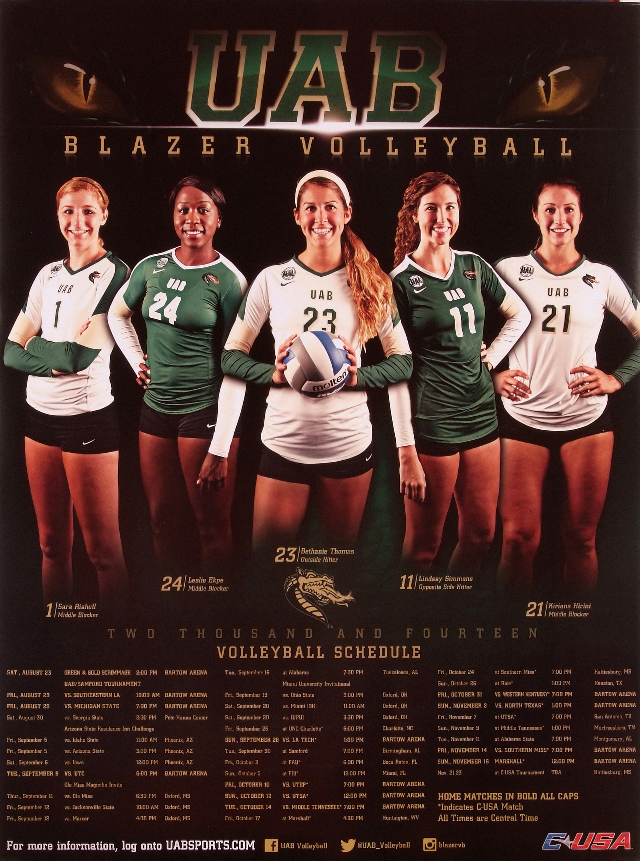 UAB Volleyball